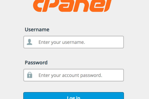 How to Log in to cpanel